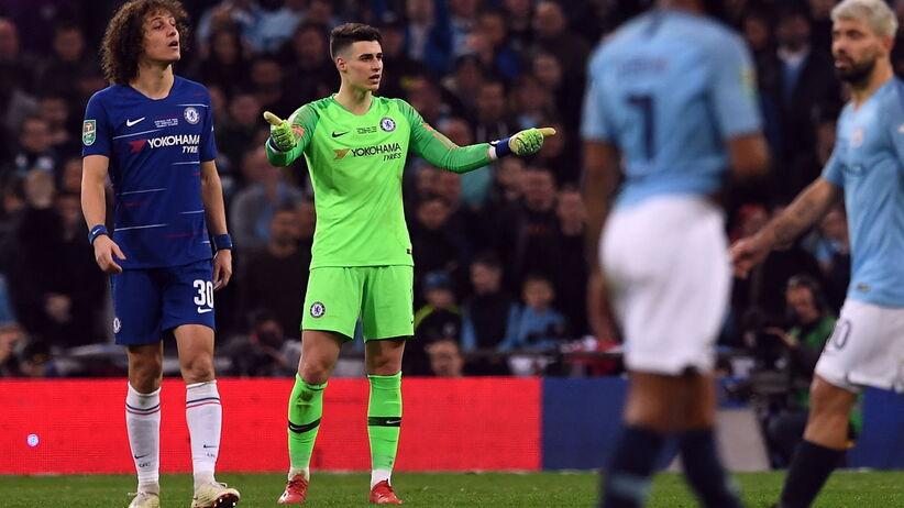 d5a4af8e6 Kepa Arrizabalaga ukarany przez Chelsea za odmowę zejścia z boiska ...